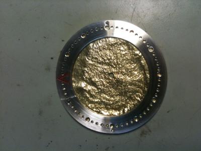 Gold & silver, pre-luminous